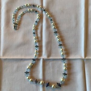"Jewelry - Long ""pearl"" and bead necklace"